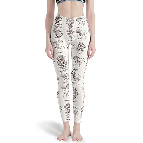Leggings de seta para mujer con estilo Fitness Yoga pantalones para yoga blanco 3xl