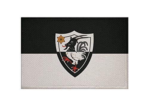 U24 Aufnäher Schwalmstadt OT Ziegenhain Fahne Flagge Aufbügler Patch 9 x 6 cm
