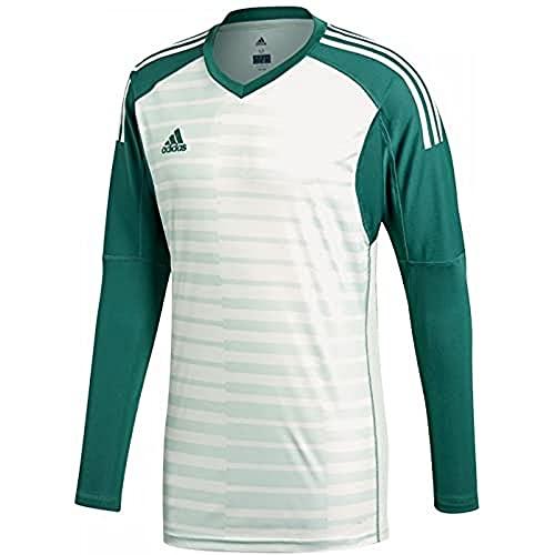 adidas Adipro 18 Goalkeeper - Maglia da Portiere da Uomo, Uomo, Maglia da Portiere, CV6352, Tech Forest/Aero Green S18/Off White, XL