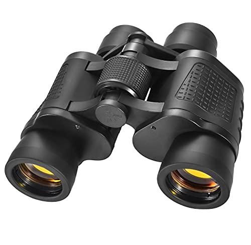 Binocolo 80x80 per Adulti, Binocolo Professionale HD con Lente FMC e Prisma BAK4 per l'osservazione...