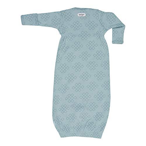Lodger Summer Sleeping Bag Blue 0-4 Months