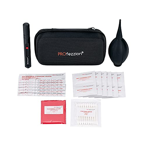 PROfezzion Camera Lens Cleaning Kit for Canon Sony DSLR Camera-2 in 1 Lens...