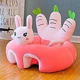 Cushion Silla de Aprendizaje para bebés con Forma de Felpa Suave Asiento Auxiliar para bebé Sofá Asiento de Seguridad para bebés Asiento Escolar anticaída para bebés