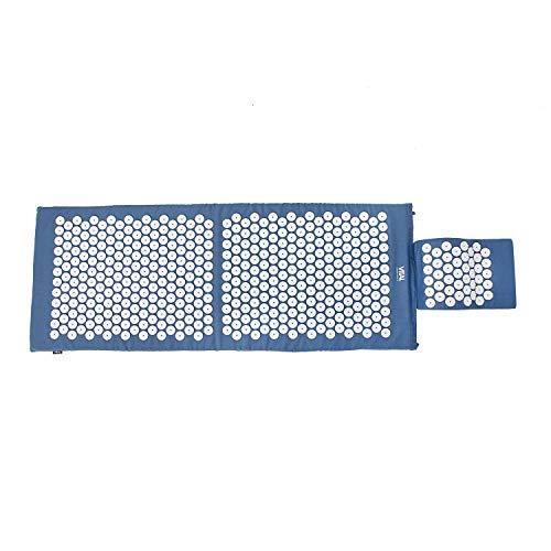 Kit d'acupression VITAL :  tapis d'acupression & coussin d'acupression dans un kit bon marché, tapis de revitalisation pour le dos et coussin pour la nuque