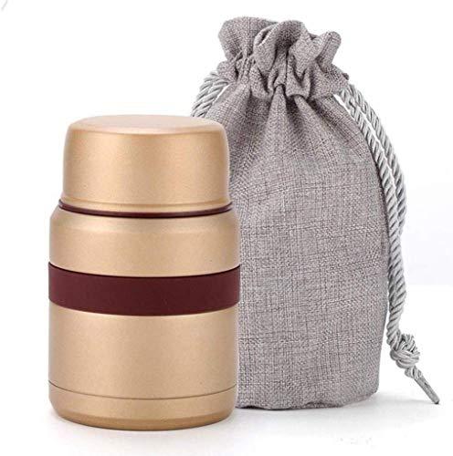 Nfudishpu Brotdose, isolierter stapelbarer Edelstahl Brotdose , Lebensmittelbehälter mit isoliertem Brotbeutel , auslaufsicher , Erwachsene, Männer, Frauen