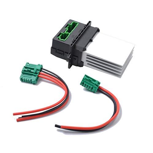 Resistencia del ventilador del calentador y cable de enchufe 6441.L2 6441L2 7701048390 7701207718 para Citroen C5 / C3 / C2 para Peugeot 207 / 207CC / 607/1007