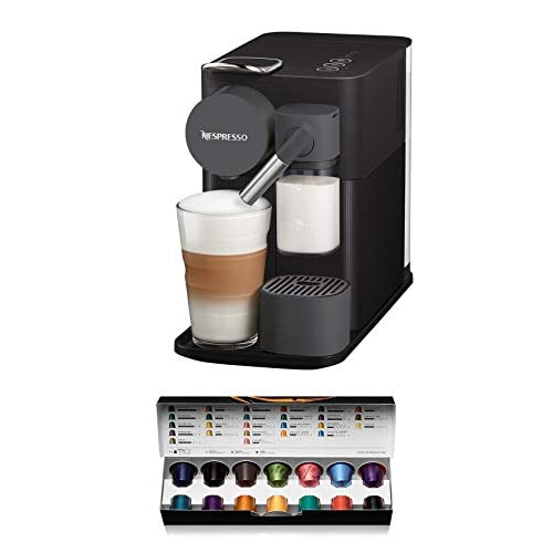 De'Longhi Lattissima One, Single Serve Capsule Coffee Machine, Automatic Frothed Milk, Cappuccino and Latte, EN500.B…