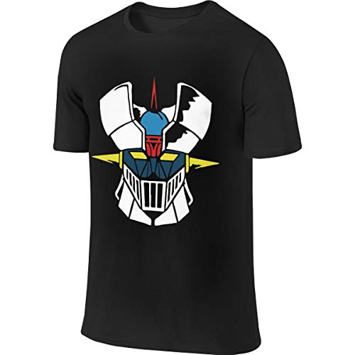 Actuallyhome Camiseta de Manga Corta para Hombre Mazinger-Z Camisetas Deportivas para Hombre Camiseta cómoda