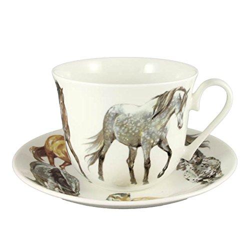 Jumbotasse & Untertasse My Horses - 0,4l