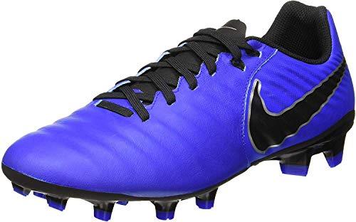 Nike Unisex-Erwachsene Legend 7 Academy FG Fußballschuhe, Blau (Racer Blue/Black/MTLC Silver 400), 42 EU
