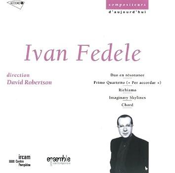 Fedele: Duo En Resonance