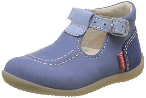 Kickers Jungen Mädchen Bonbek-2 Ballerinas, Blau (Bleu Tricolore 53), 25 EU