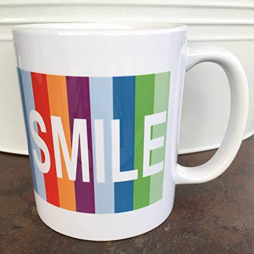Big Bang Theory Kaffeetasse Smile Mug Rainbow Coffee Mug