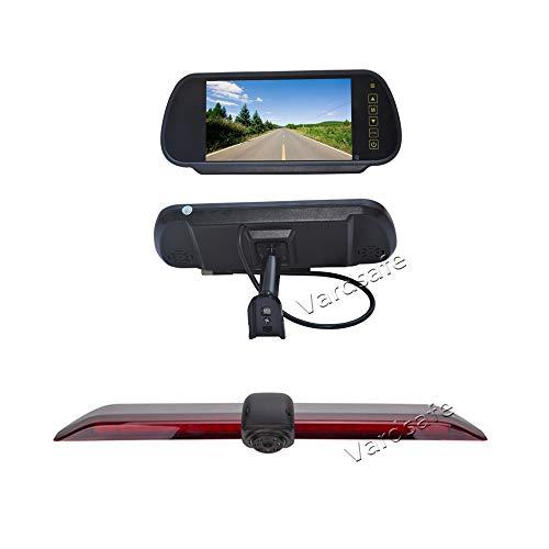 Vardsafe VS6917R Affichage d'écran de Vue arrière de Remplacement de 7 Pouces & caméra de recul pour VW Volkswagen Crafter Van 2017 2018 2019 2020