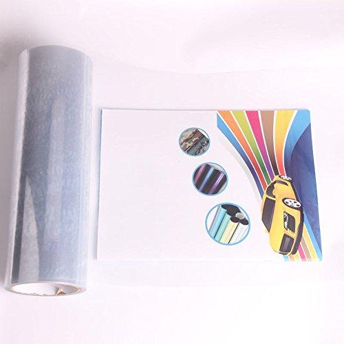 HOHOFILM Auto Koplamp Tint Film Achterlicht Vinyl Wrap Mist Licht Sticker Zelfklevende Auto Folie 30cmx200cm Transparant