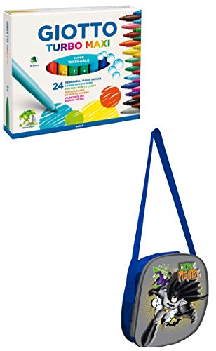 modi_shop Set Scuola Giotto Turbo Maxi (Batman)
