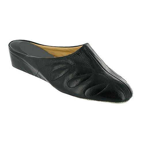 Cincasa Menorca Mahon Ladies Slipper Black Size 38