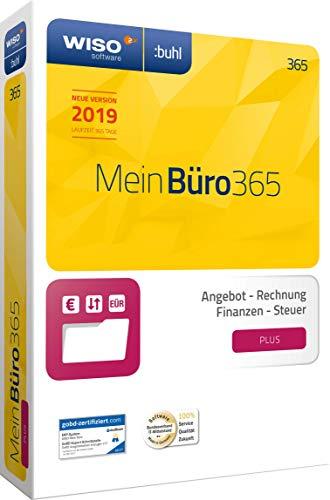 WISO Mein Büro 365 (2019) PLUS | Bürosoftware, Rechnung schreiben, Umsatzsteuervoranmeldung, Buchhaltung u. v. m.