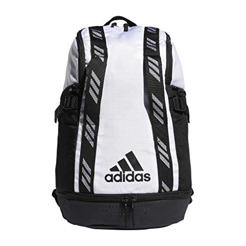 adidas Creator 365 Rucksack für Erwachsene, unisex, Unisex-Erwachsene, Rucksack, Pro Madness Backpack, Weiß / Schwarz, Einheitsgröße