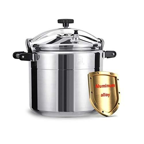 Kommerzieller Aluminiumdruckkochergas Special Pot, 11L-50L Große Kapazität Verfügbar Multi-Cook Slow Cooker Steamer und Wok Suppentopf, Haushaltsmultifunktionsreiskocher für verschiedene Lebensmittelk