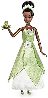 Disney Tiana Classic Doll with Prince Naveen as Frog Figure - 11 1/2 Inch