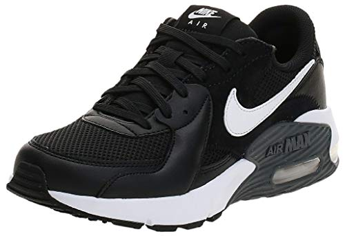 Nike Damen Air Max Exceed Sneaker, Black/White-Dark Grey, 39 EU
