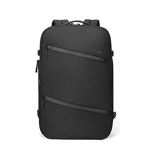 Arctic Hunter Spoo - Mochila para ordenador portátil de negocios, color negro, impermeable, con USB, para tablet y portátil