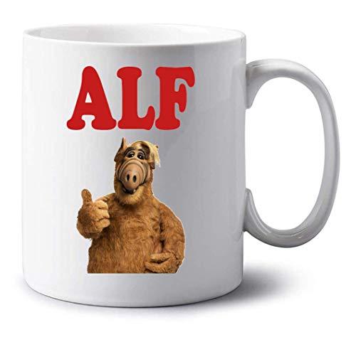Sartamke Alf Portrait Tv Show Design Weiße Tasse