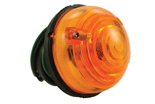 Wipac Front amber separate lens and body type 12V Indicator Assembly Series IIA 88 Series IIA 109 Series III 88 Series III 109 90 110 Defender 90 & 110 All models from 1969 on BR 3384 RTC5013