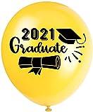 100pcs 12 Pulgadas de Globo de látex Amazon Graduation2021 Temporada de graduación Personalizada Foto de la Fiesta de la Fiesta (Style : 1)