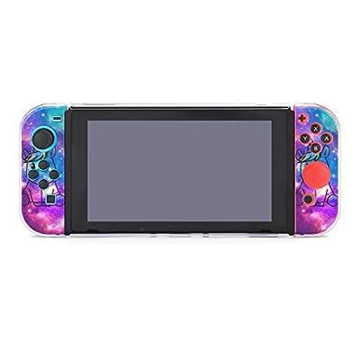 Funda para Nintendo Switch Lindo Unicornio Juego de 5 Piezas Funda Protectora Compatible con Nintendo Switch Game Console