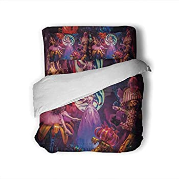 Dxichy New York-December 7  The Beautiful Holiday Window displays and s on Saks Fifth Avenue December 7 2016 in York City,Hotel Luxury Queen Size Bed Sheets Set- Fade Resistant Queen