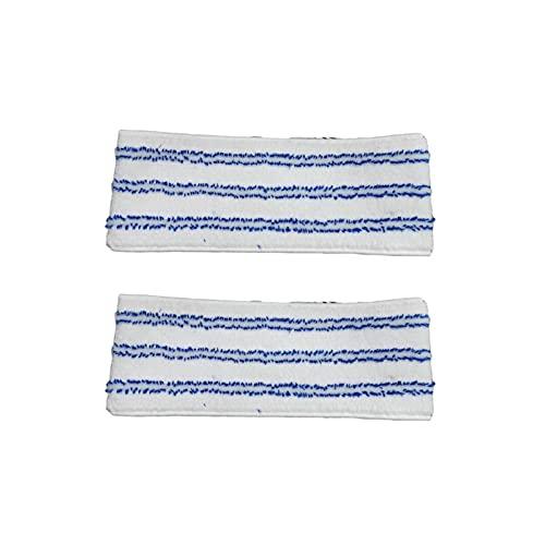 YJLLOVE YANGJIAOLIAN 6 o 1. 2 pz. Microfiber Mop Pads Adatto for Polti Vaporetto Kit Vaporflexi Brush Eco PRO 3.0 MOP Pannelli 2020 Top Selling ELECTONTI Grande (Color : Pack of 12)