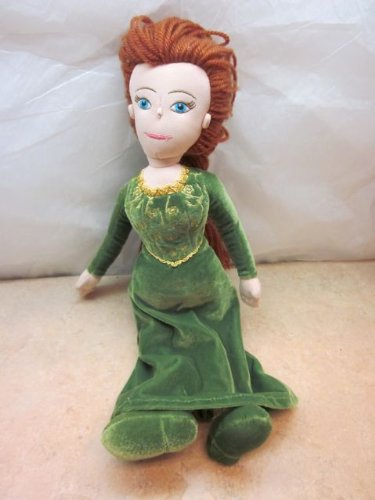 Shrek 4-D Princess Fiona 15' Plush Doll 2003 Dreamworks