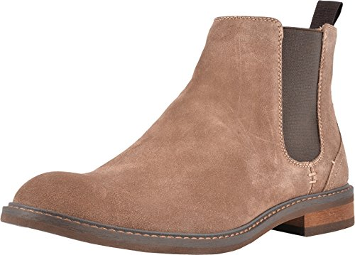 Vionic Men's Bowery Kingsley Chelsea Boot Dark Taupe 10 M US