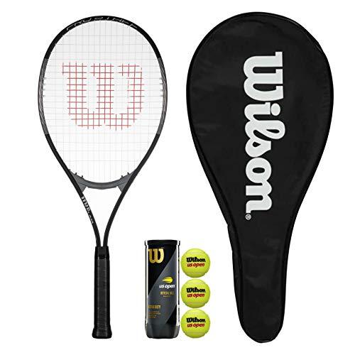 Wilson Pro Staff Excel 112 GX - Raqueta de tenis con funda y 3 pelotas de tenis
