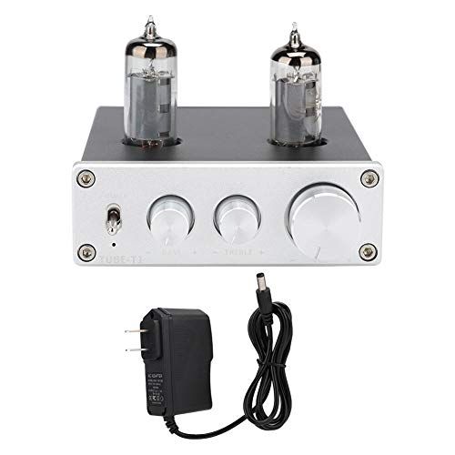 Buy Discount Zopsc Tube-T1 Preamplifier Mini HiFi Stereo Amplifier 20Hz-20kHz with Treble Bass Audio...