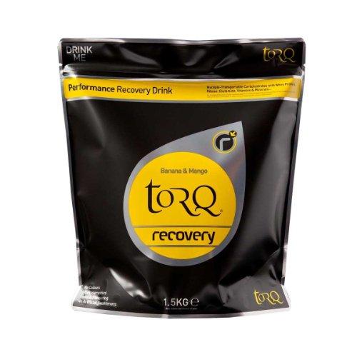 TORQ Bebida de recuperación, 1,5kg, Paquete de 2, Unisex, X2, Negro, n/a