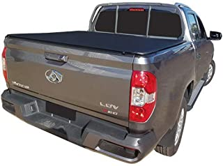 LDV T60 Dual Cab 2017 to Current - To Suit Factory Headboard And Over Rail Liner, Clip On Ute Tonneau Cover. Tuff Tonneaus...