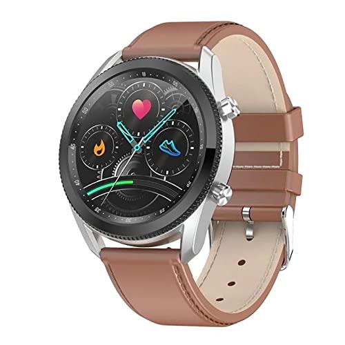 ZGZYL L61 Bluetooth Call Smart Watch con Presión Arterial Y Monitoreo De Ritmo Cardíaco Reloj Reloj De Fitness para Hombre Reloj De Cronómetro Pedómetro Reloj Deportivo,D