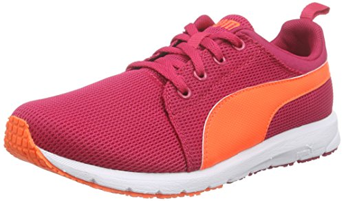 Puma Carson Runner Jr Laufschuhe, Pink (Rose red-Fluo Peach-White 21), 37.5 EU