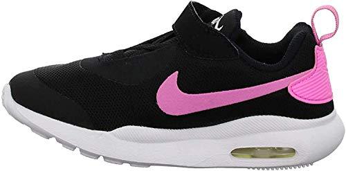 Nike Jungen Unisex Baby Air Max Oketo (TDV) Niedrige Hausschuhe, Mehrfarbig (Black/Psychic Pink/White 000), 21 EU