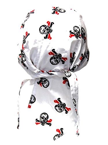 armardi b Bandana casquette Têtes de mort avec os Multicolore