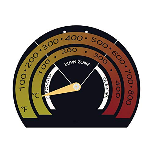qianele Backofenthermometer, Magnetisches Ofenthermometer Ofenthermometer Für Holzöfen Gasherde Ofenthermometer