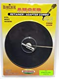 Bear Creek Auger Adapter Kit Black Retainer, Silver Adapter, Up To 8' Auger