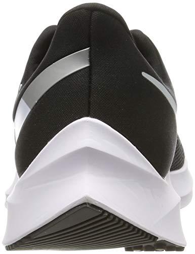 Nike Men's Running Shoes, Black (Black/White/Dk Grey/MTLC Platinum 001), US:5.5