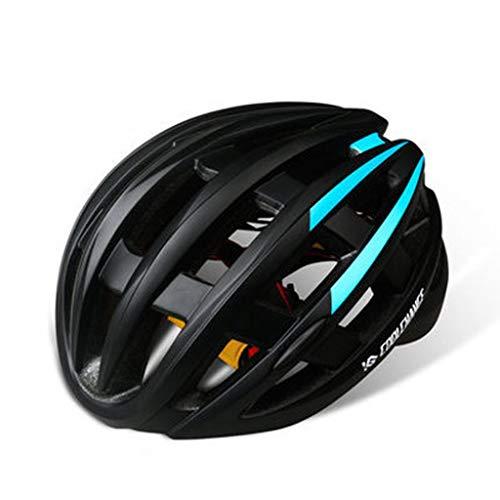 JM- Mountainbike-Helm mit integriertem Formteil für Herren Leichter Fahrrad-Ausrüstungshelm Universal-Fahrradhelm
