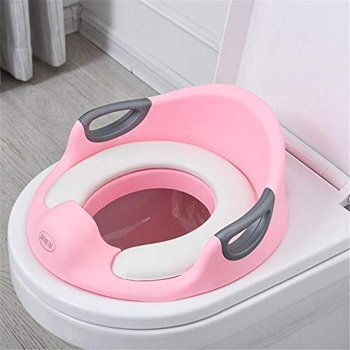 Asiento de entrenamiento para ir al baño multifuncional para bebés Asientos portátiles para ir al baño para niños Asientos con cojín suave Anillo para ir al baño antideslizante-D3