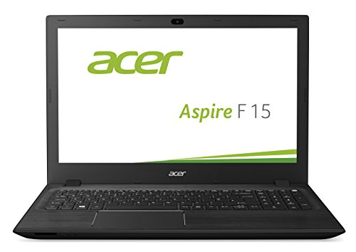 Acer Aspire F 15 (F5-571G-574X) 39.62 cm (15,6 Zoll Full HD) Laptop (Intel Core i5-5200U, 8GB RAM, 1000GB SSHD, NVIDIA GeForce 940M, DVD, Win 10 Home) schwarz