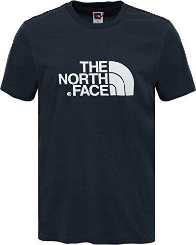 North Face M S/S EASY TEE Camiseta, Hombre, Urban Navy/Tnf White, XS